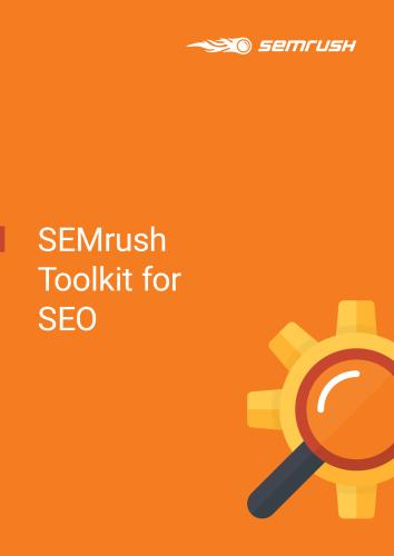 SEMrush Toolkit for SEO
